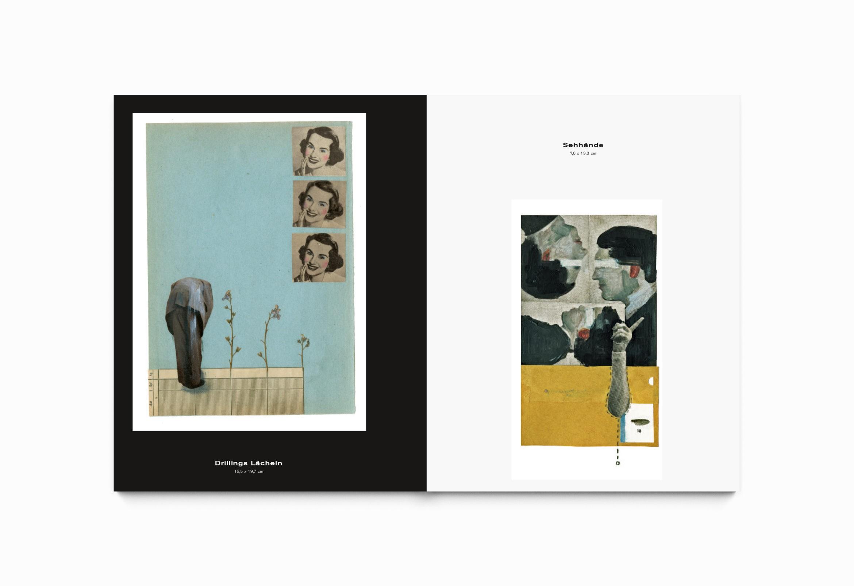 Innenseite | Broschüren Portfolio | Künstlerin | Illustrationen