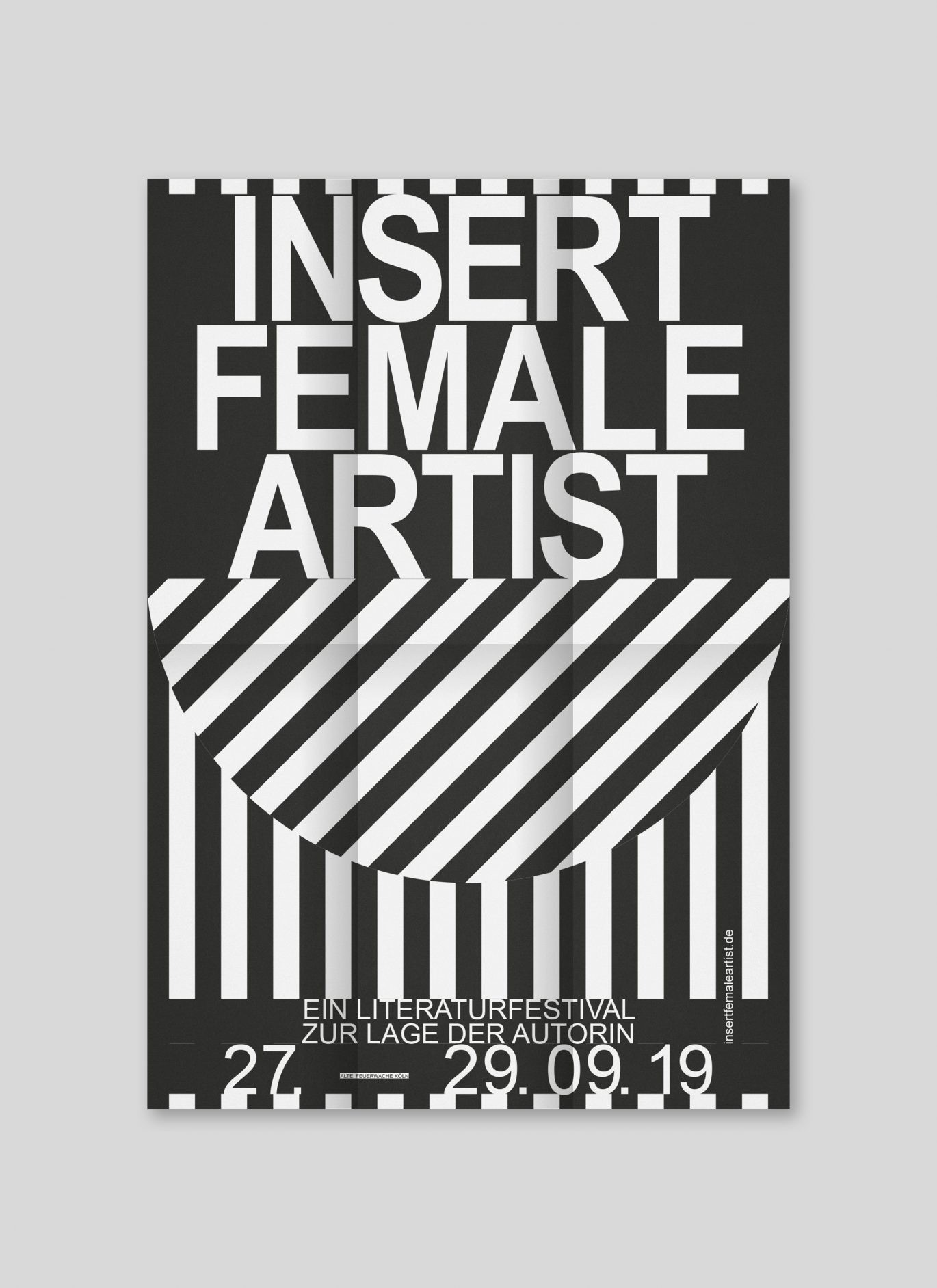 Programmflyer | Literatur | Female | Design