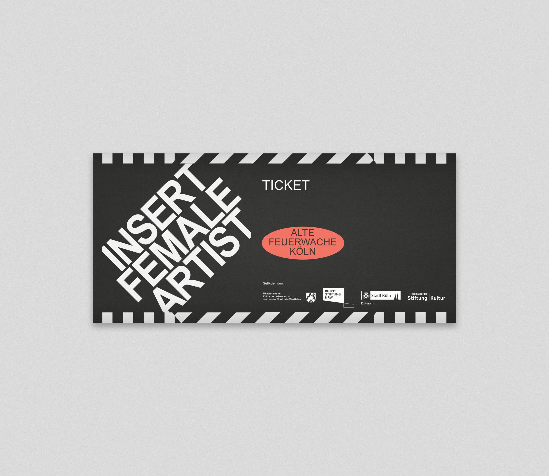 Literaturfestival | Ticket | Köln | Design