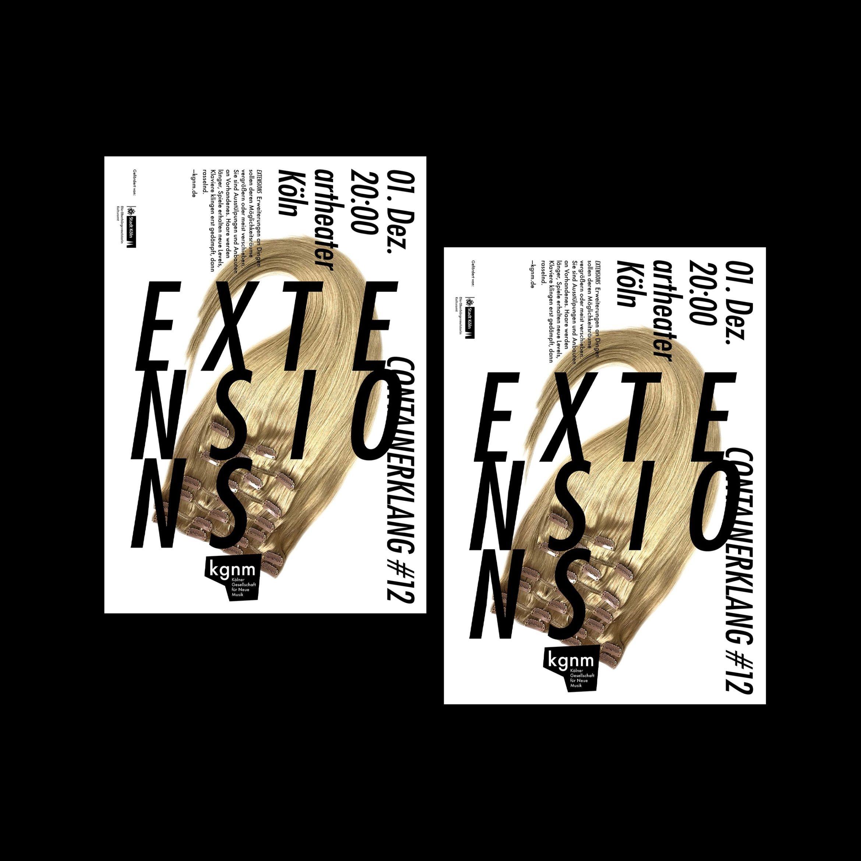 Flyer Design | Typografie | Musik Konzert | Redesign