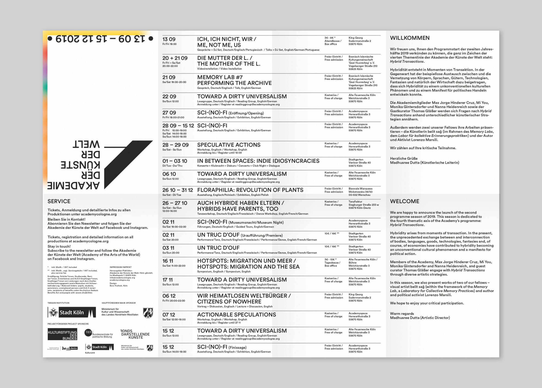 Kalender | Grafik | Typografie | Kultur