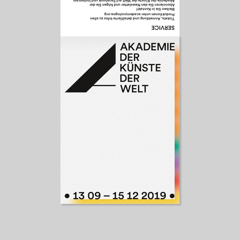 Programmflyer  Grafikdesign   Kunst   Kultur