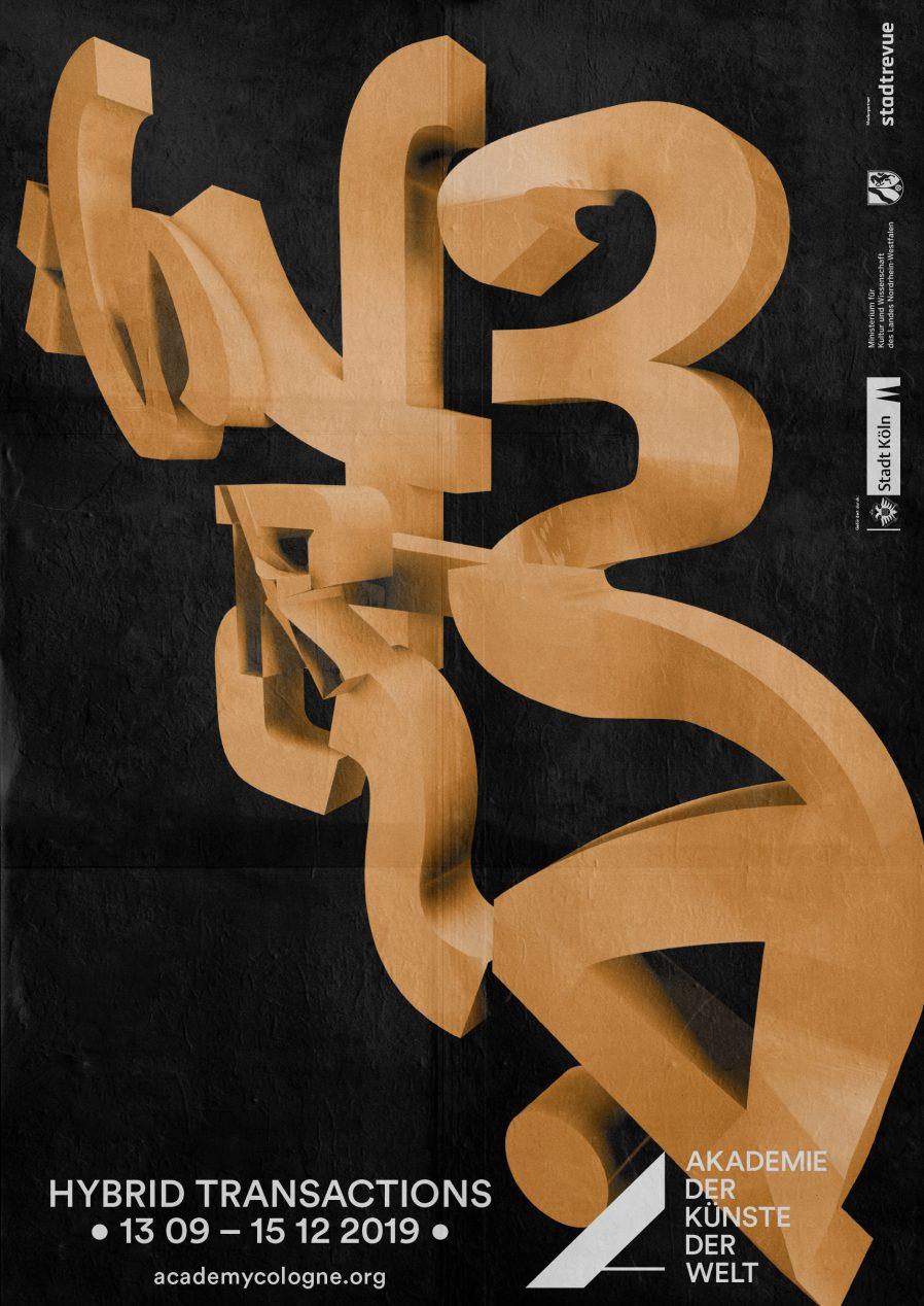 Hybrid Typography | Schrift | Gestaltung | Plakat