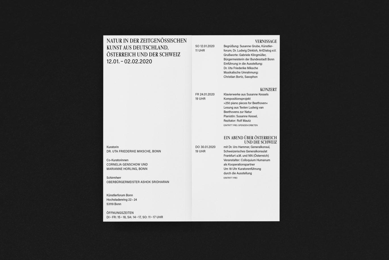 Einladung | Typografie | Grafikdesign | Kunst