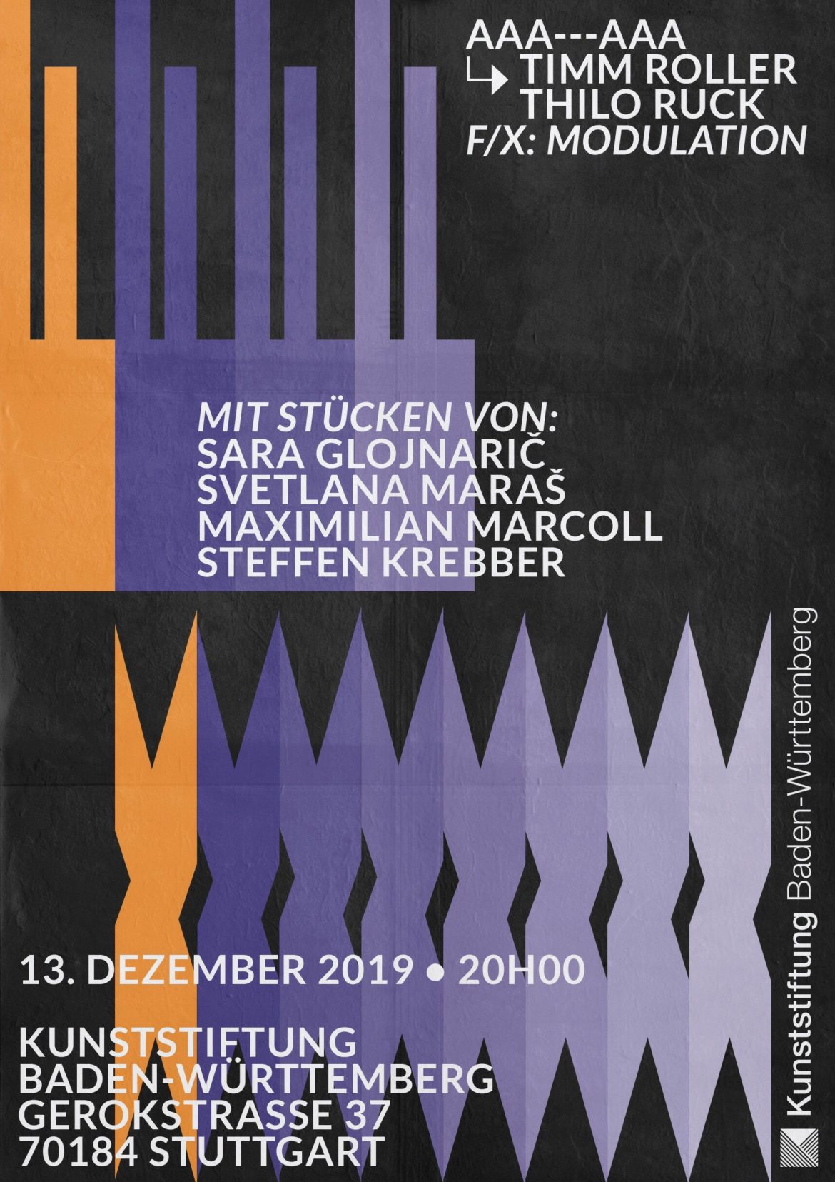 Plakat |Grafikdesign |Köln |Print |Neue Musik