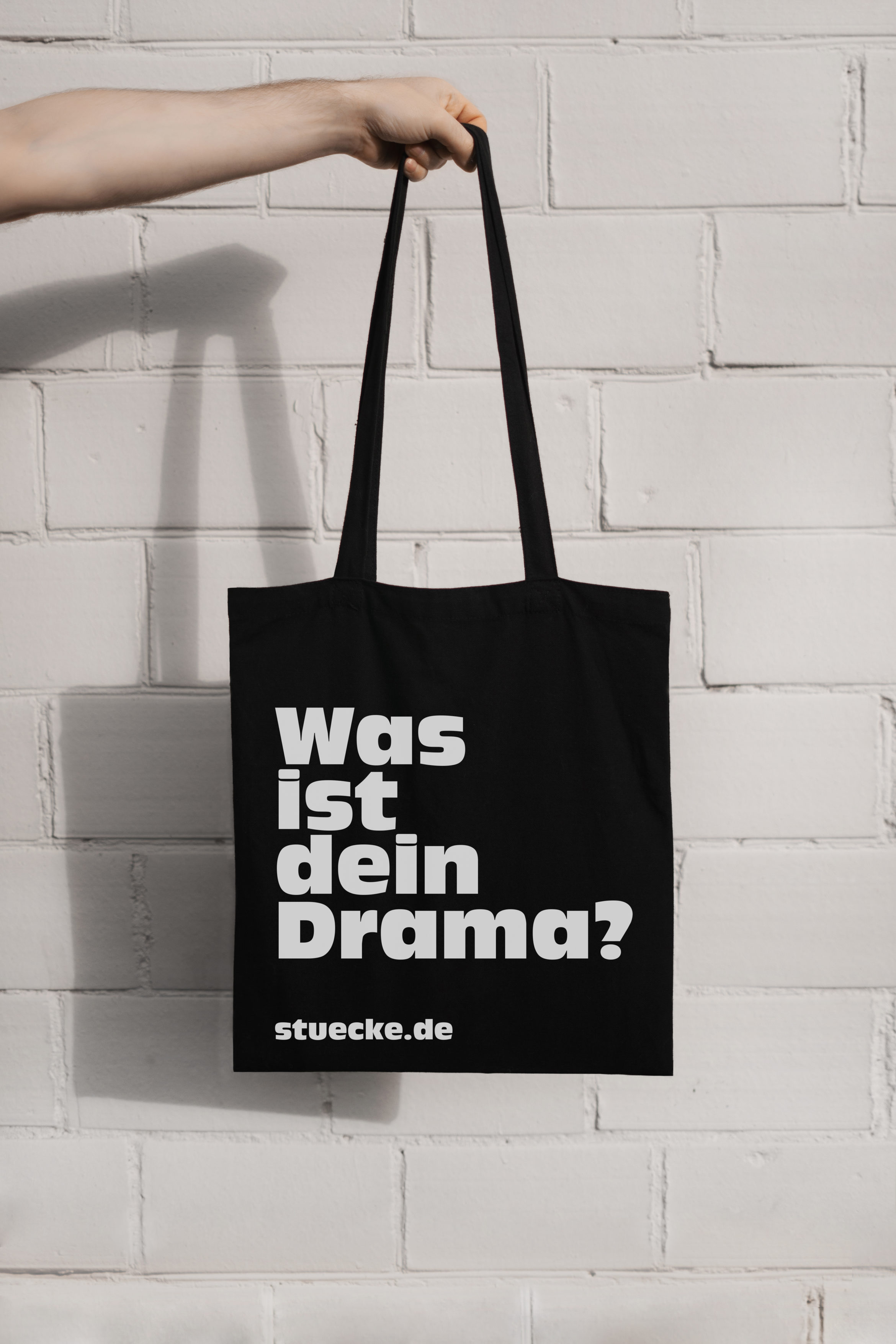 Theatertage | Tote Bag | Black