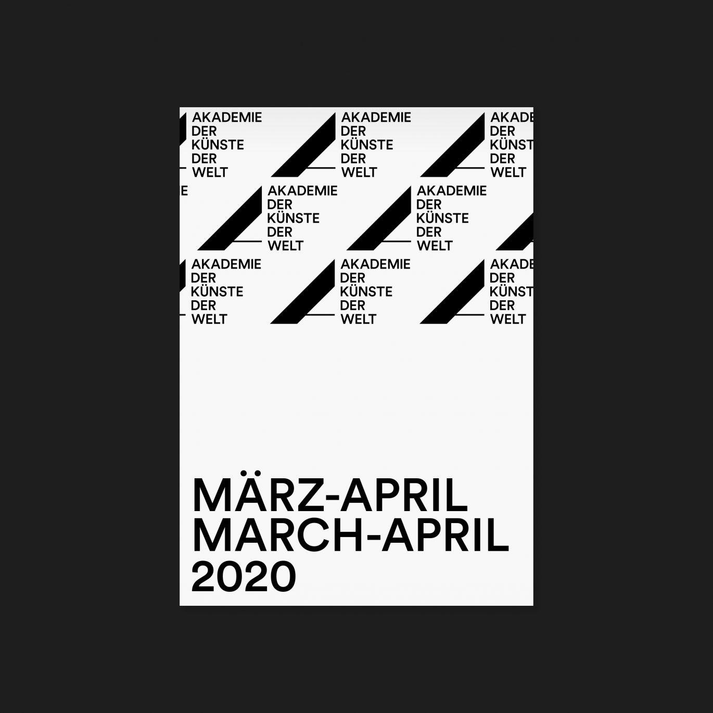 Programmflyer | Köln |Kunst | Kultur | Cover