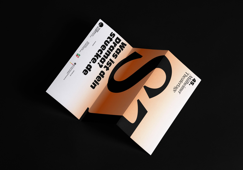 Stücke2020 |Design |Köln |Programmflyer