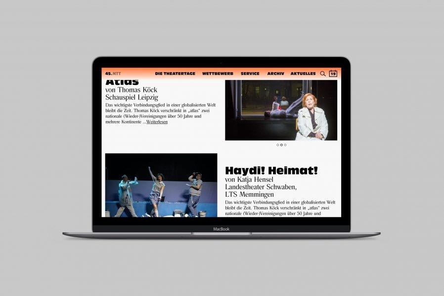 Mülheimer Theatertage »Stücke« -