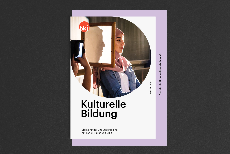 Booklet | Bildung |Kultur| Coverdesign