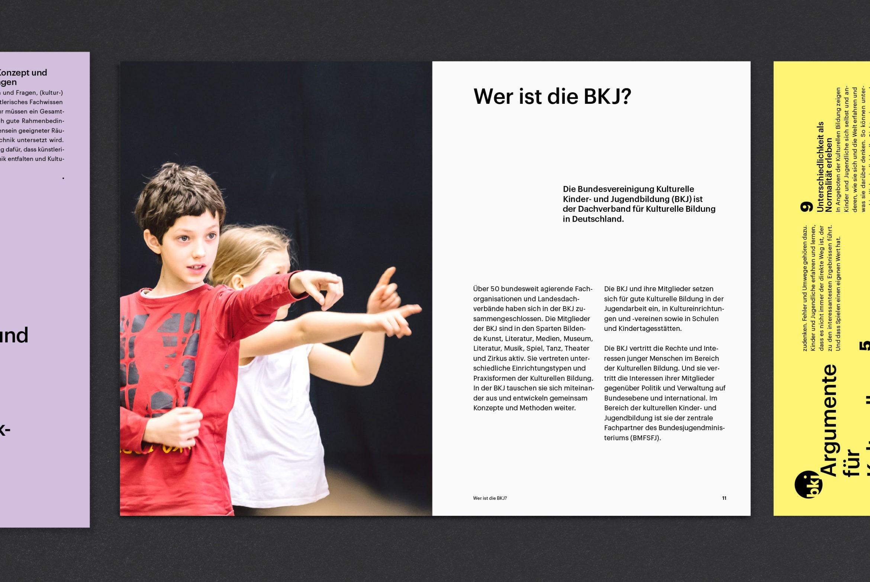 Booklet | Bildung |Kultur| Typografie