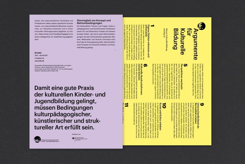 Booklet | Bildung |Kultur