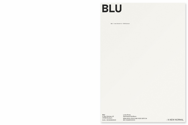 Corporate Design |Slowfashion | Shop |Cologne | Briefbogen