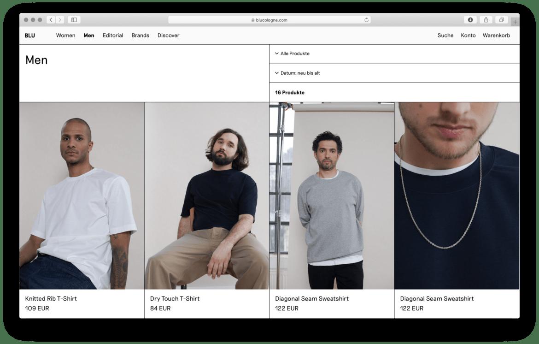 Webshop |Slowfashion | Shop |Cologne | Produktübersicht