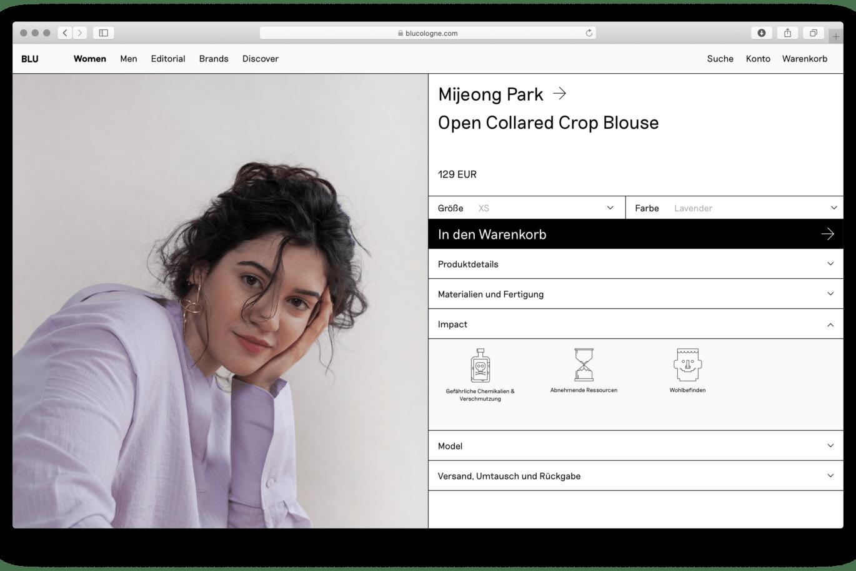 Webshop |Slowfashion | Shop |Cologne | Produkt