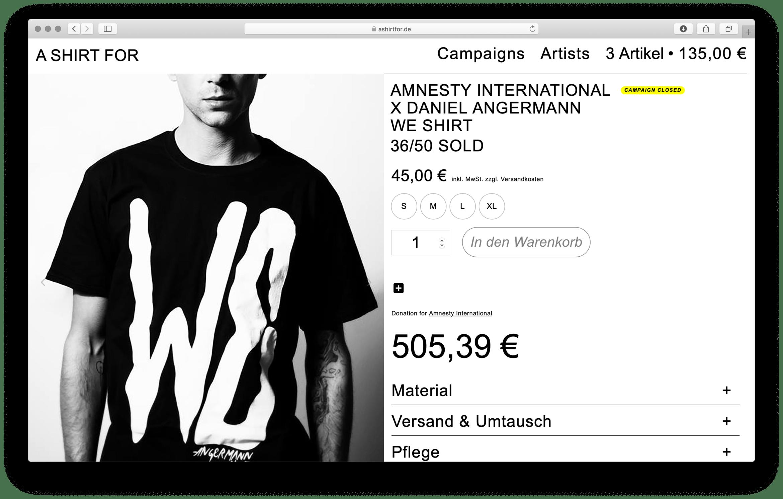 WE für Amnesty