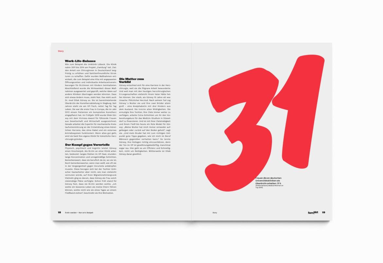 Typografie  Spalten   Zahlen   Editorial