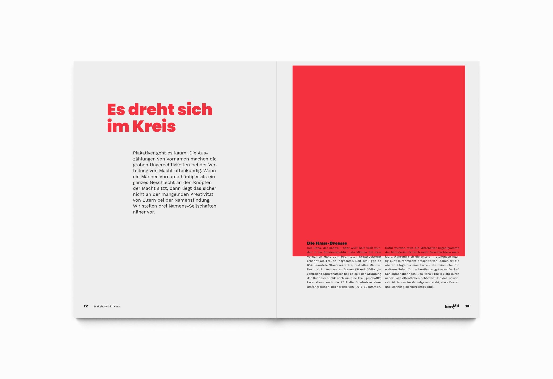 Editorialdesign | Raster |Spalten | Schrift