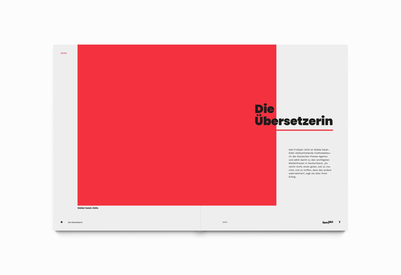 Editorialdesign | Raster |Bildaufbau | Schrift