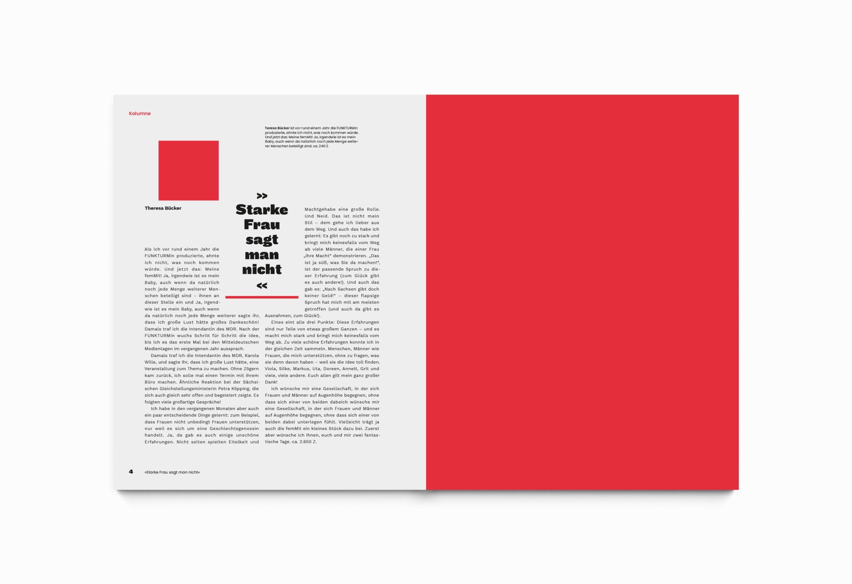 Starke Frau | Female |Design | Magazin