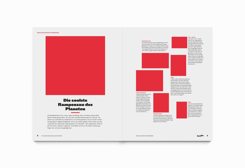 Editorialdesign | Raster |Aufbau | Schrift