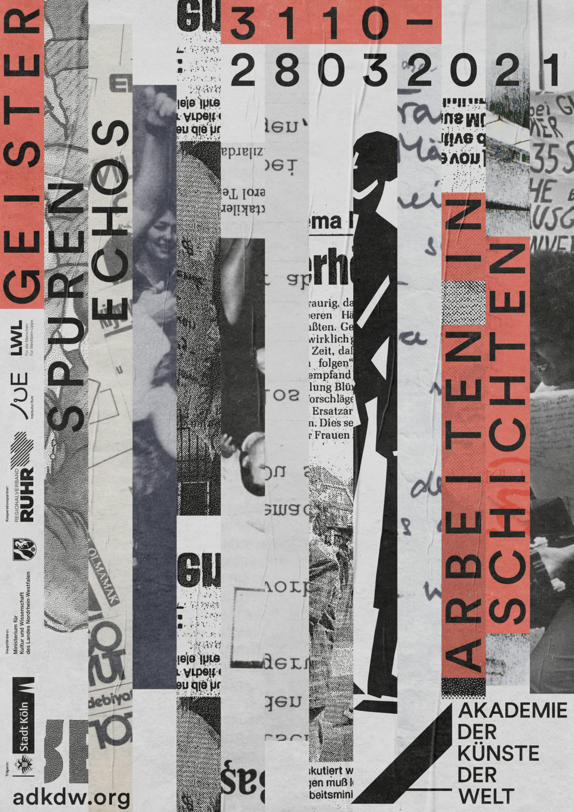 Plakat |Geister | Strasse |Köln