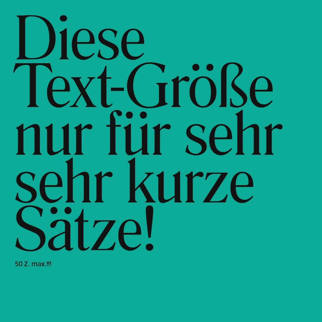 Schrift   Groß   Design