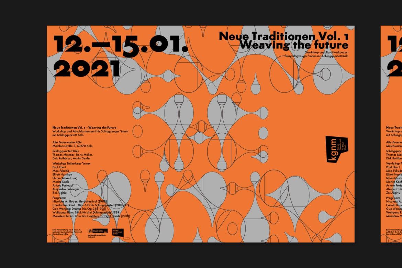 Futura |Schrift | Flyer |Musik