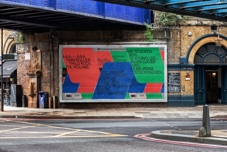 Musik | Plakat |Schrift |Avantgarde |Billboard