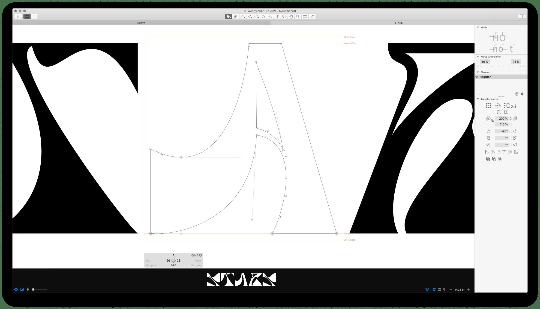 Schrift | Buchstaben | Gestaltung | Buchstabe A