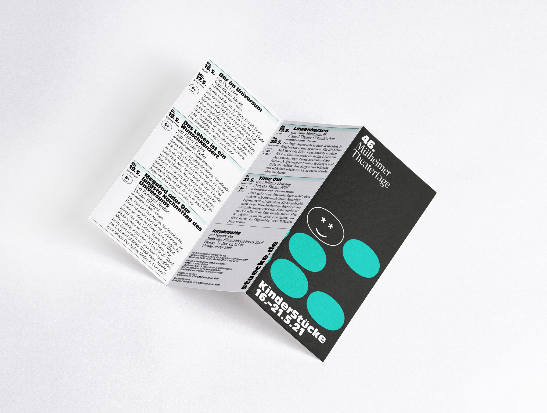 Flyer   Print   Zickzack   Bubbles