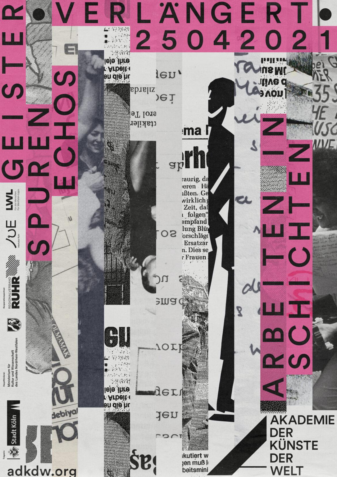 ADKDW | Plakat Ausstellung | Kunst | Schrift