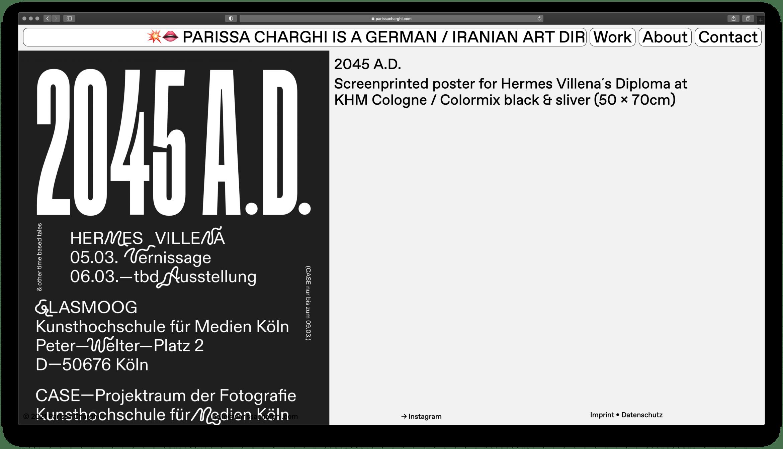 Parissa Charghi | Artdirector | Portfolio | ABC Dinamo