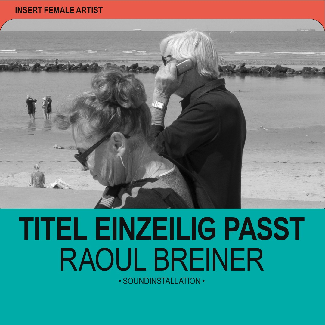 Insert Female Artist | Plakat | Literaturfestival | People