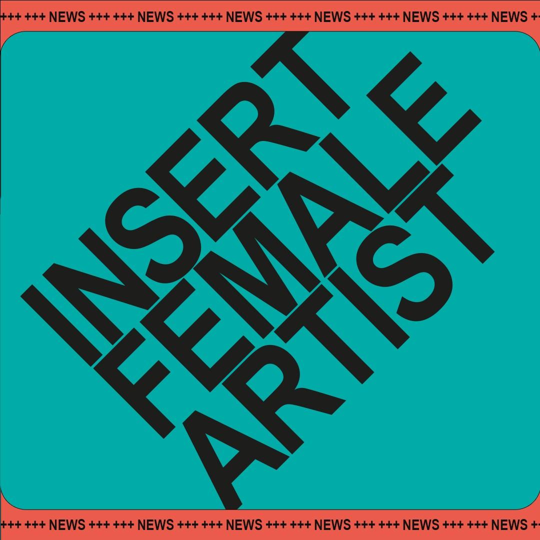 Insert Female Artist | Literaturfestival | Logotype