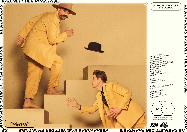 Booklet | Musiker | Typografie |Hut