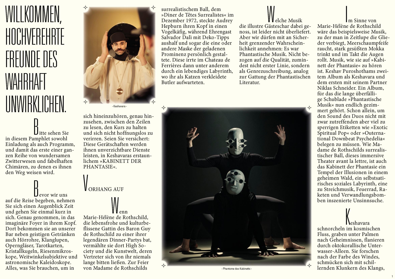 Booklet | Magie| Typografie |Masken