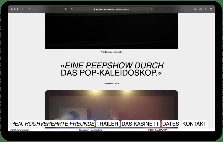 Website | Schrift | Deutschlandfunk