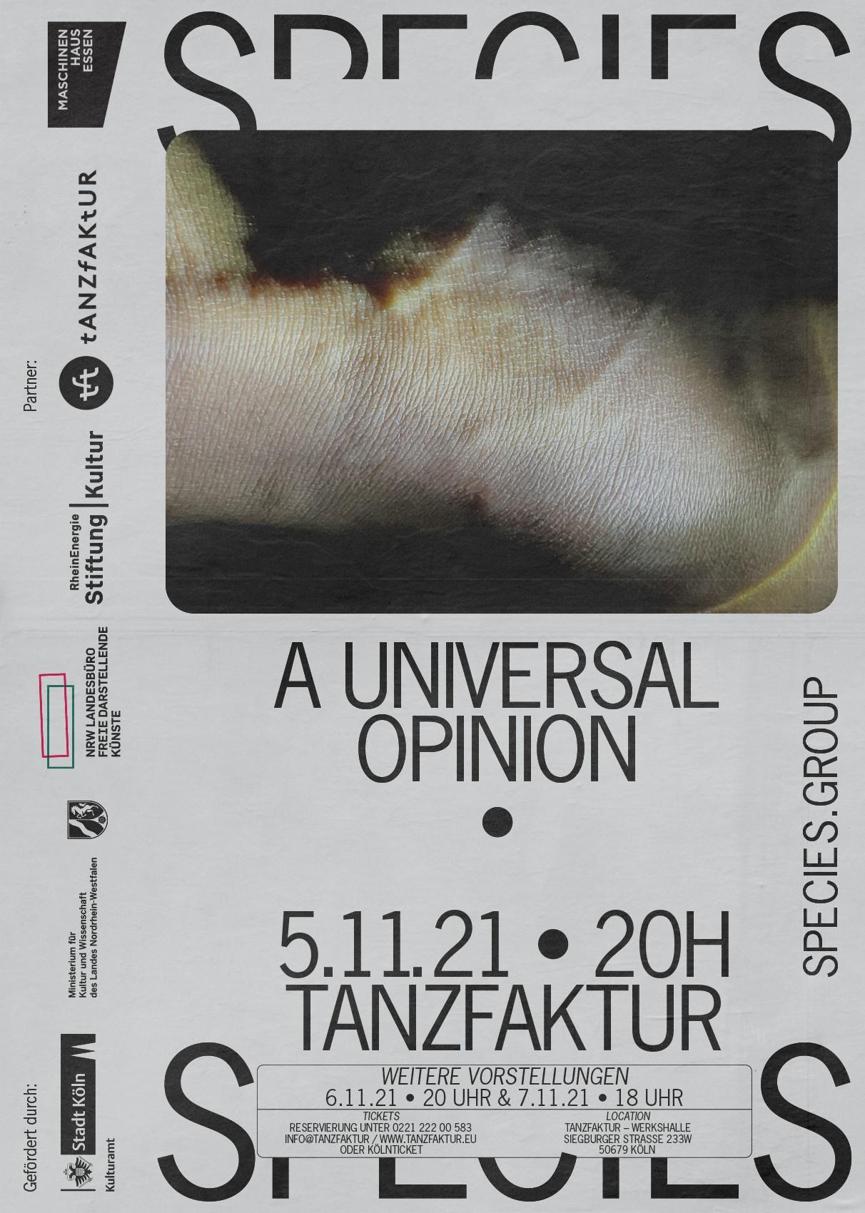 Plakat   Tanz   Köln   Haut