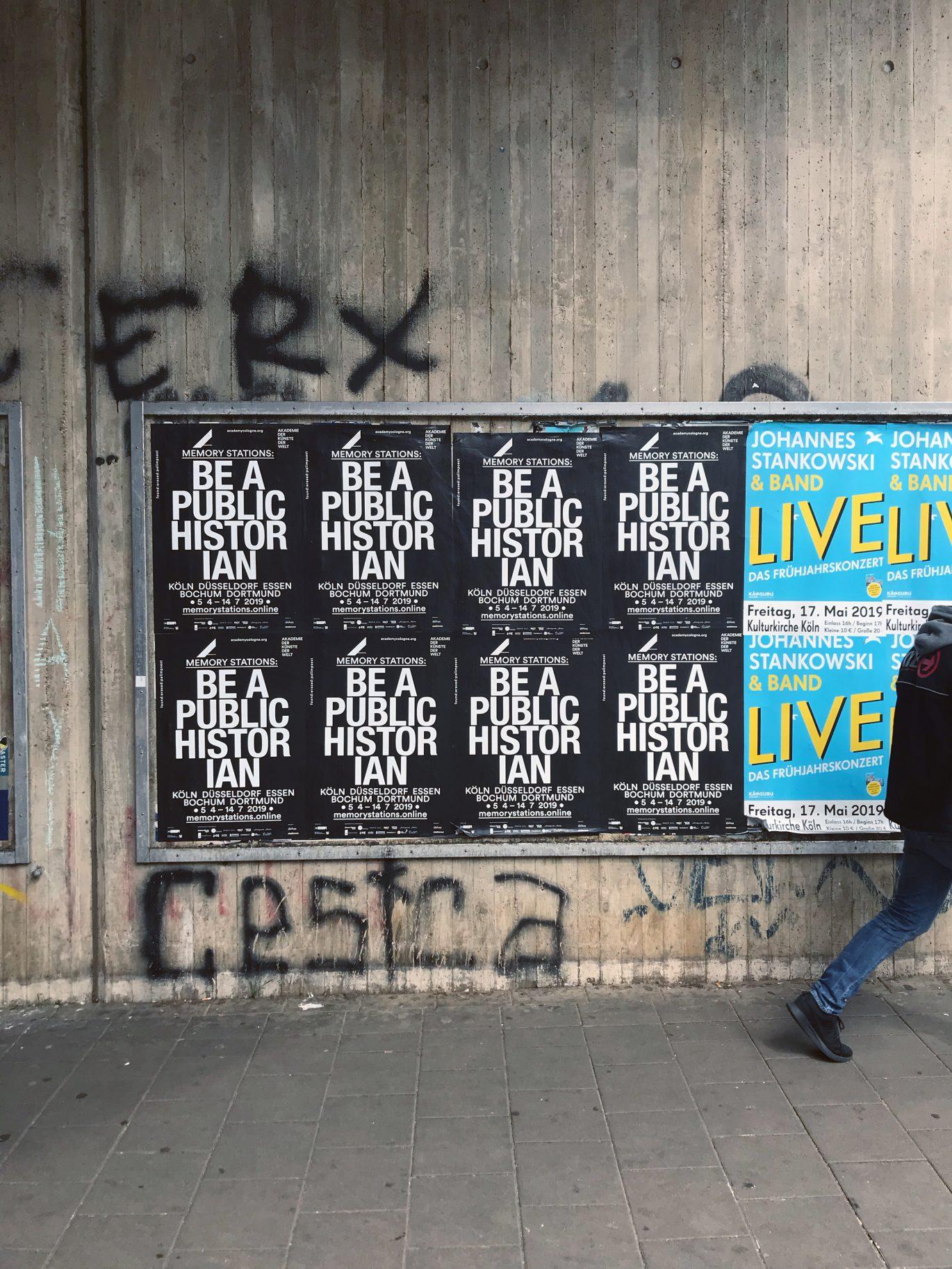 Plakat | Urban | schwarz weiß | Typografie Poster | Ehrenfeld