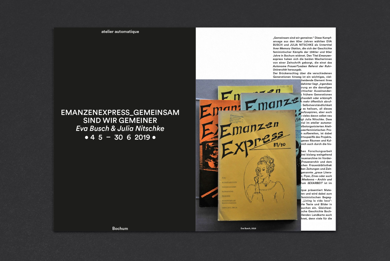 Headline | Subheadline | invertieren | Editorial Design