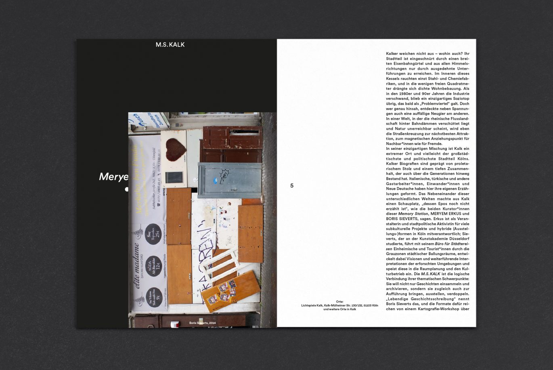 Seiteneinzug | Postkarte | Broschüre | Innenseite