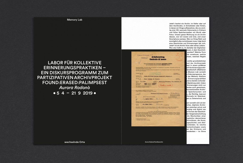 Innenseiten | Einzug | Printprodukt | Editorial | Broschüre