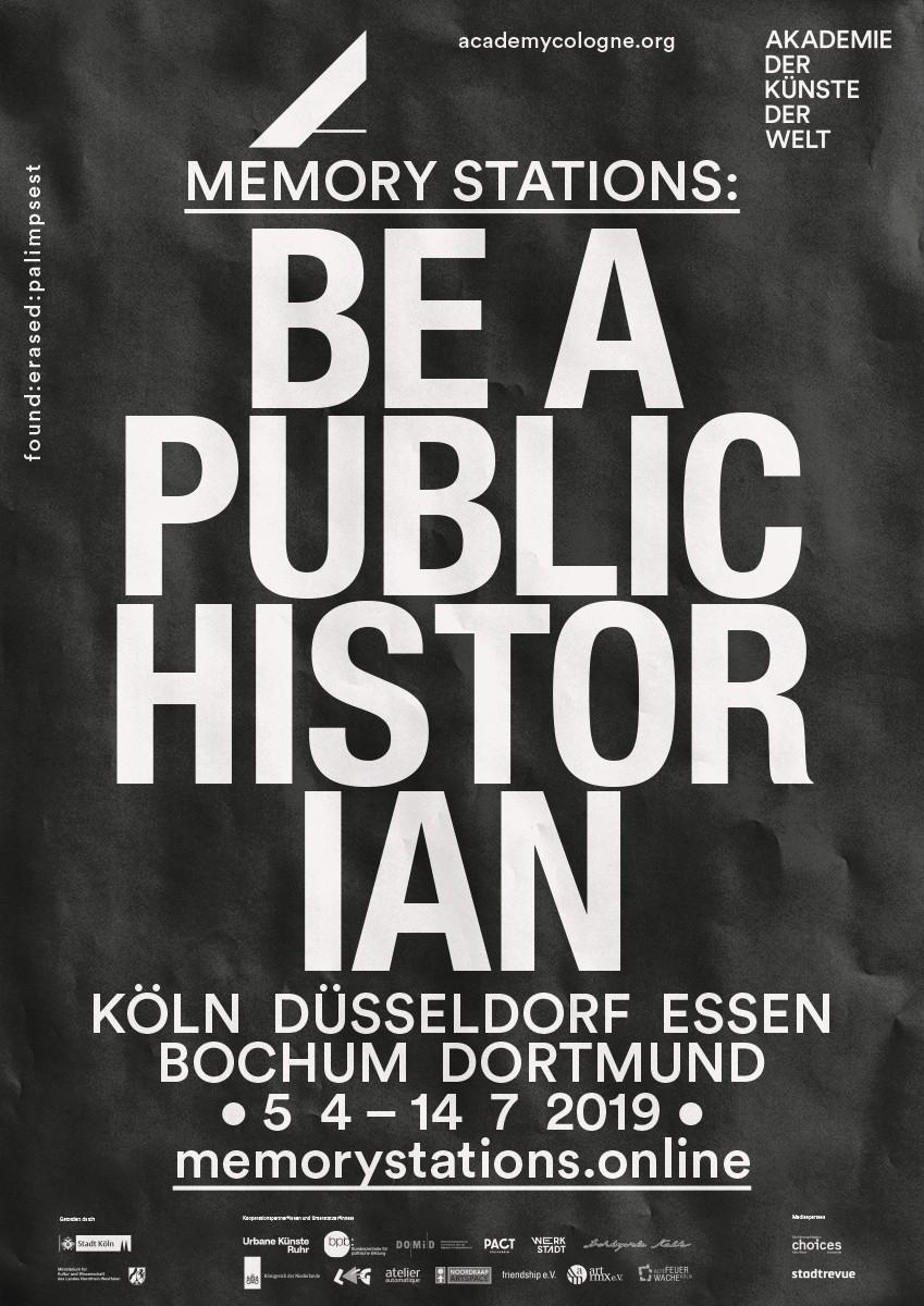 Plakat | Vollbild | schwarz weiß | Typografie Poster