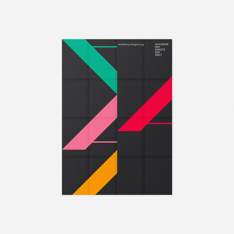 Programmflyer | Faltplakat | Innovativ | Raster