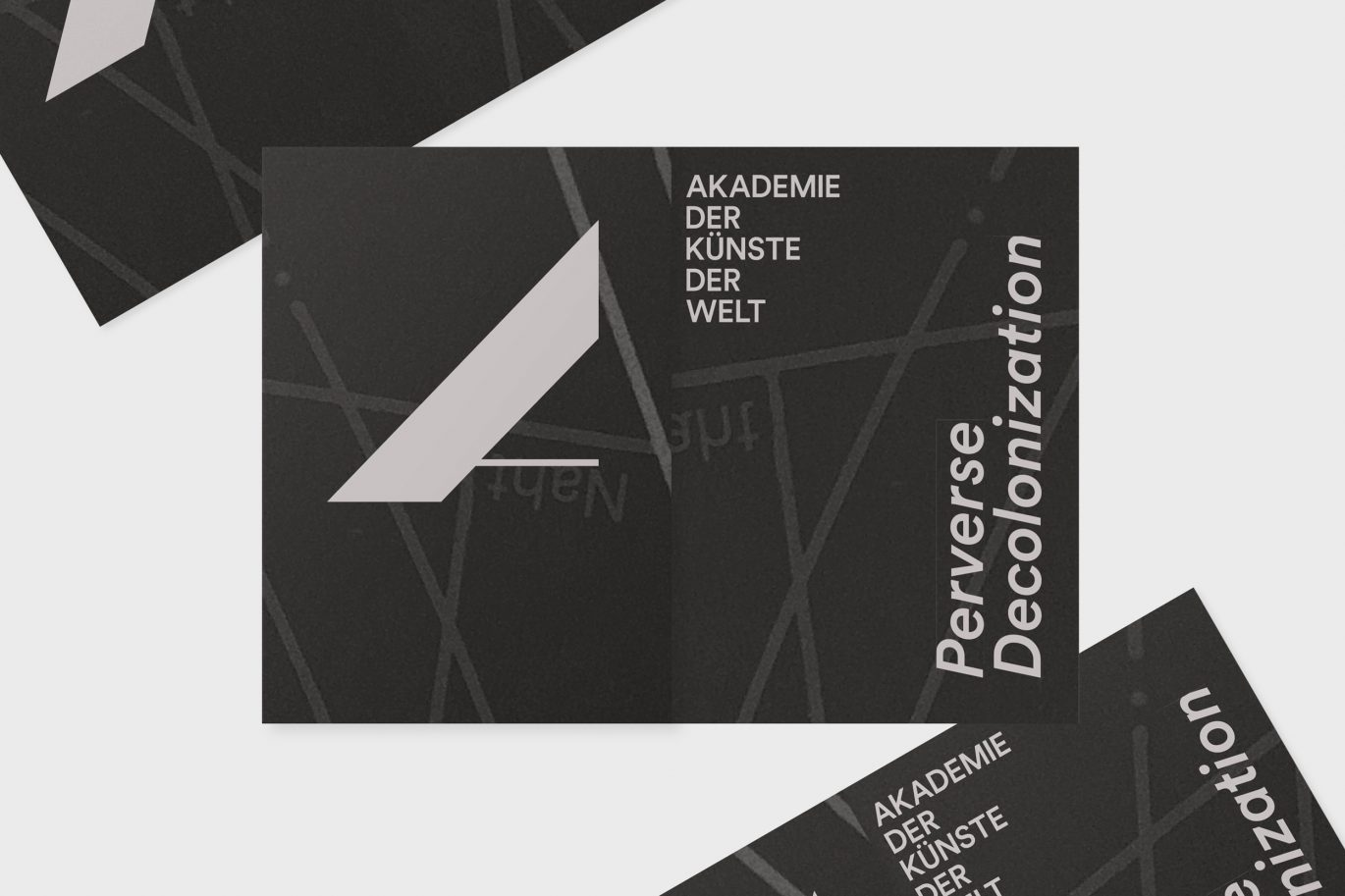 Flyer für Programm Perverse Decolonization« Folded Booklet