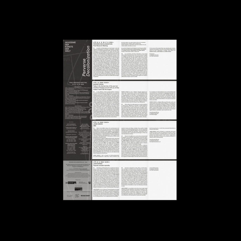 Flyer Rückseite   Programm   Programmheft   Kunst und Kultur