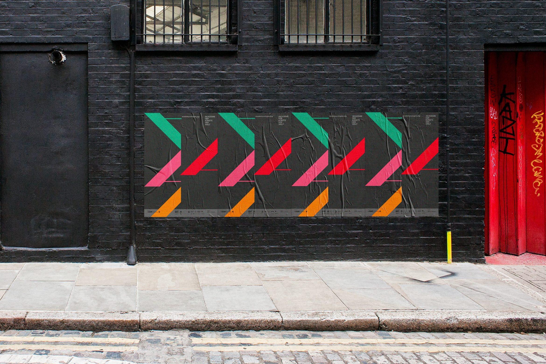 Billboard | Posterdesign | Geometrie Design | Farbe und Form