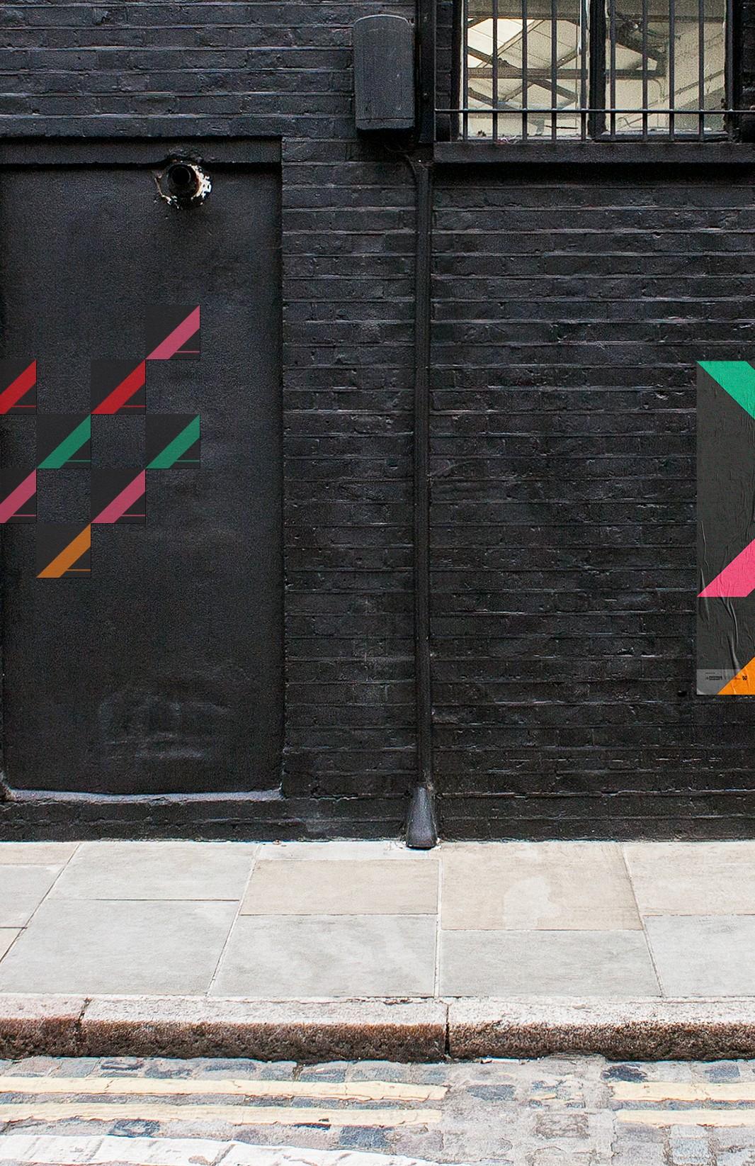 Sticker | Aufkleber | Muster Design | Farbe und Form