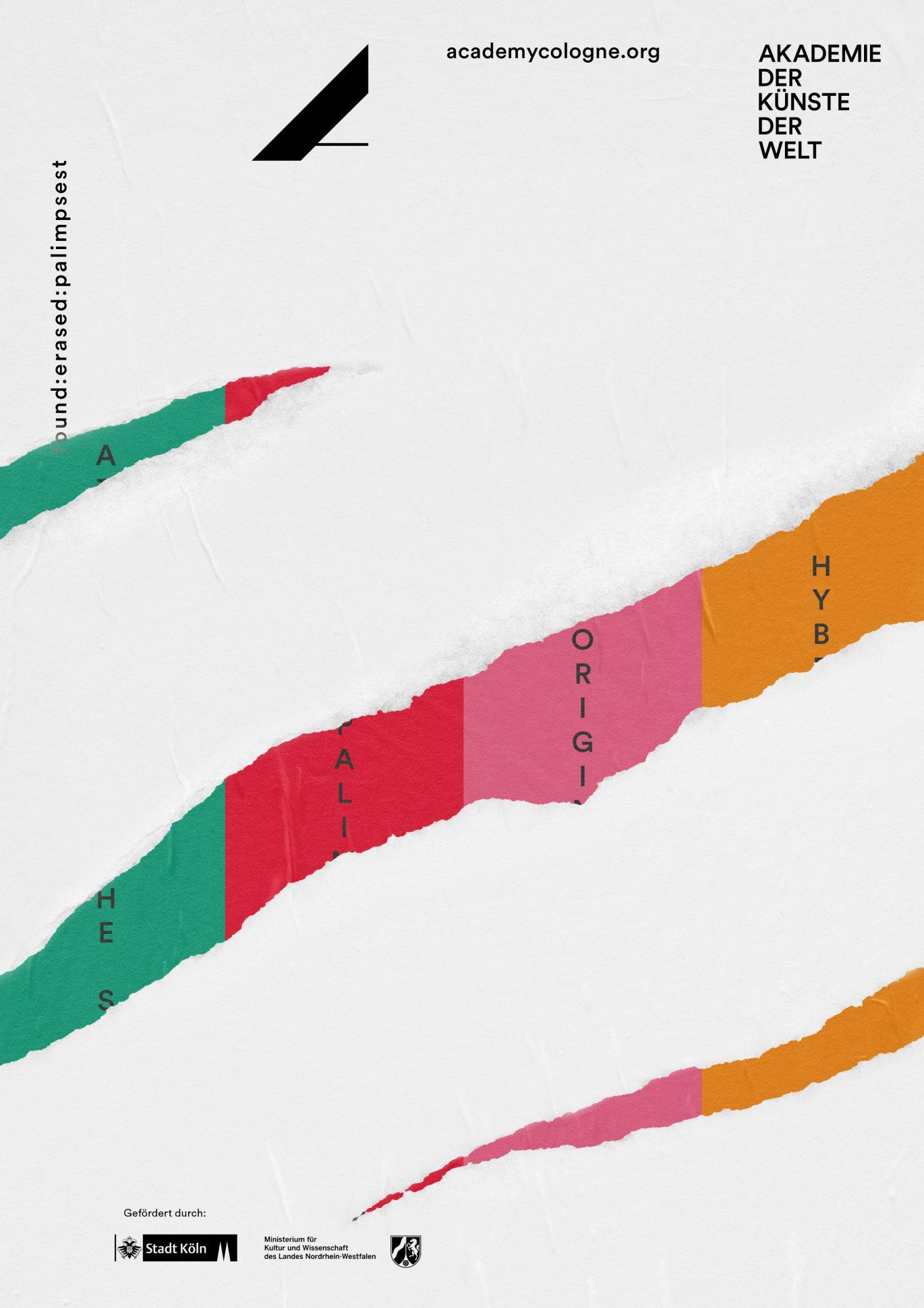 Abstrakt | Museum | Konzeption | Farbenreich | Plakat